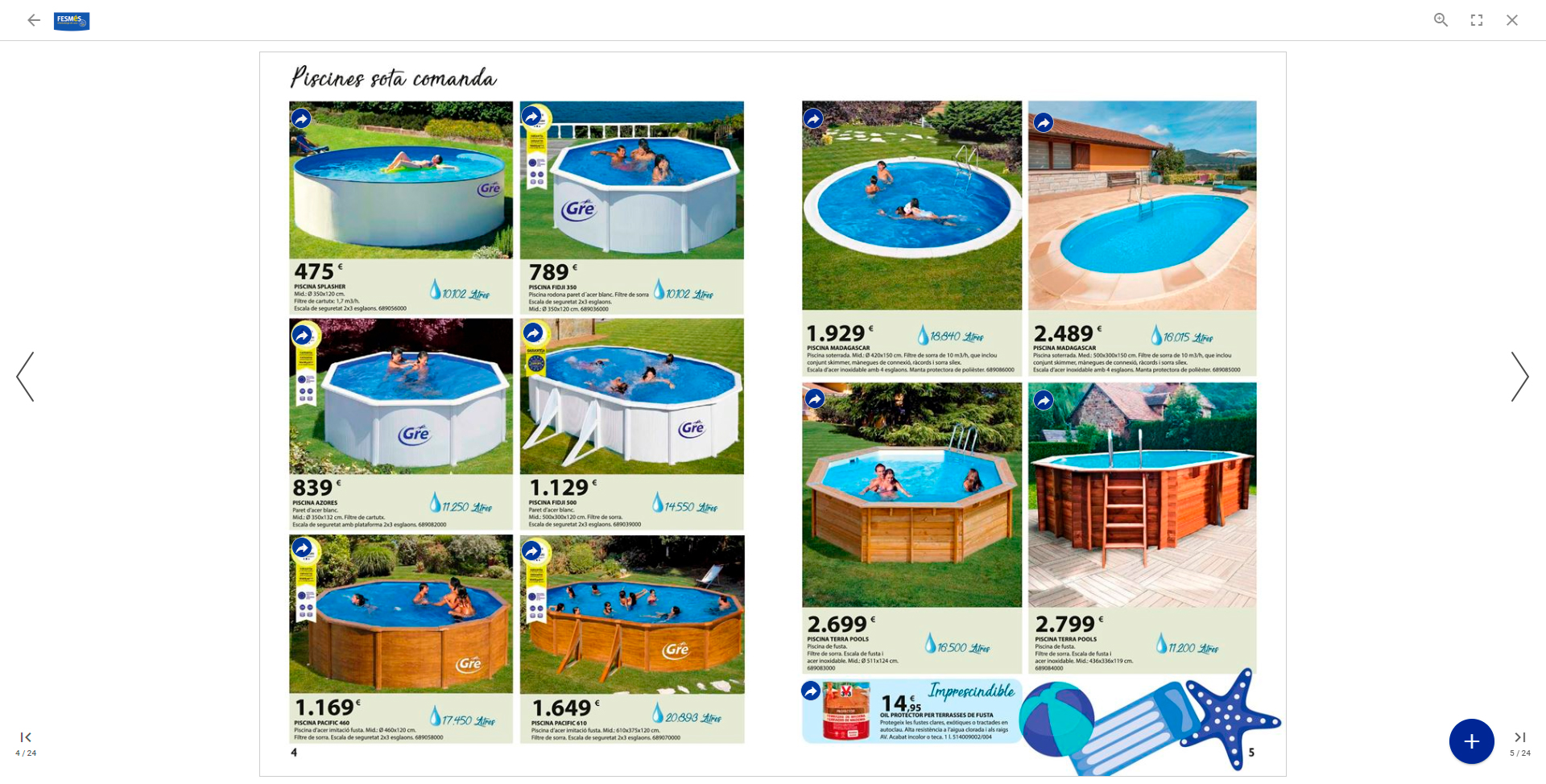 Fesmes folleto piscinas