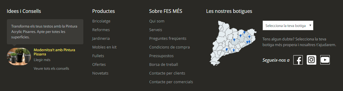 Fesmes footer