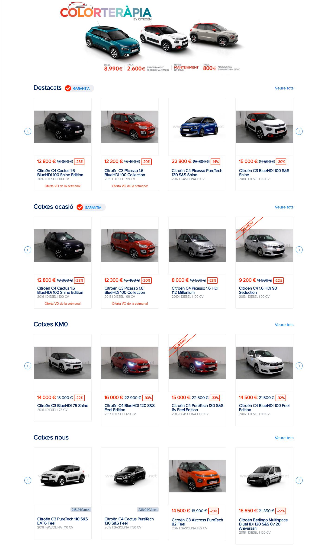 Grupandreu buscador coches