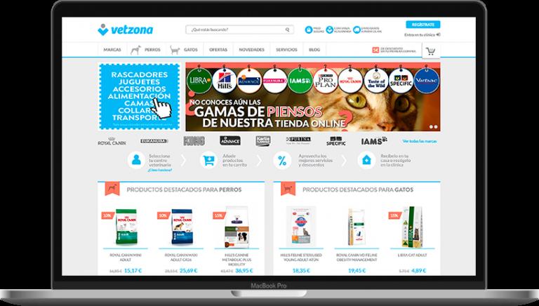 Comertis Vetzona ecommerce