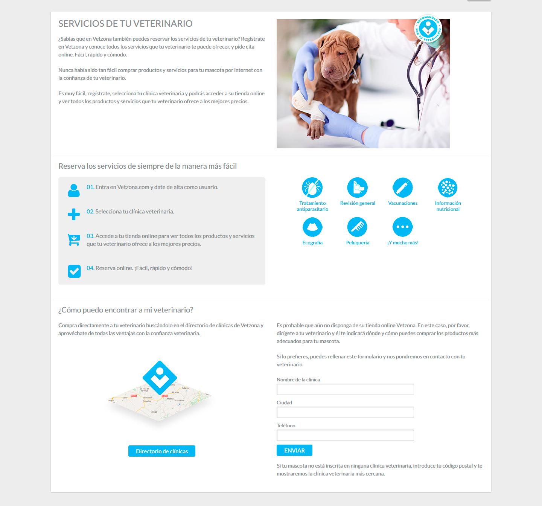 Vetzona buscador veterinario