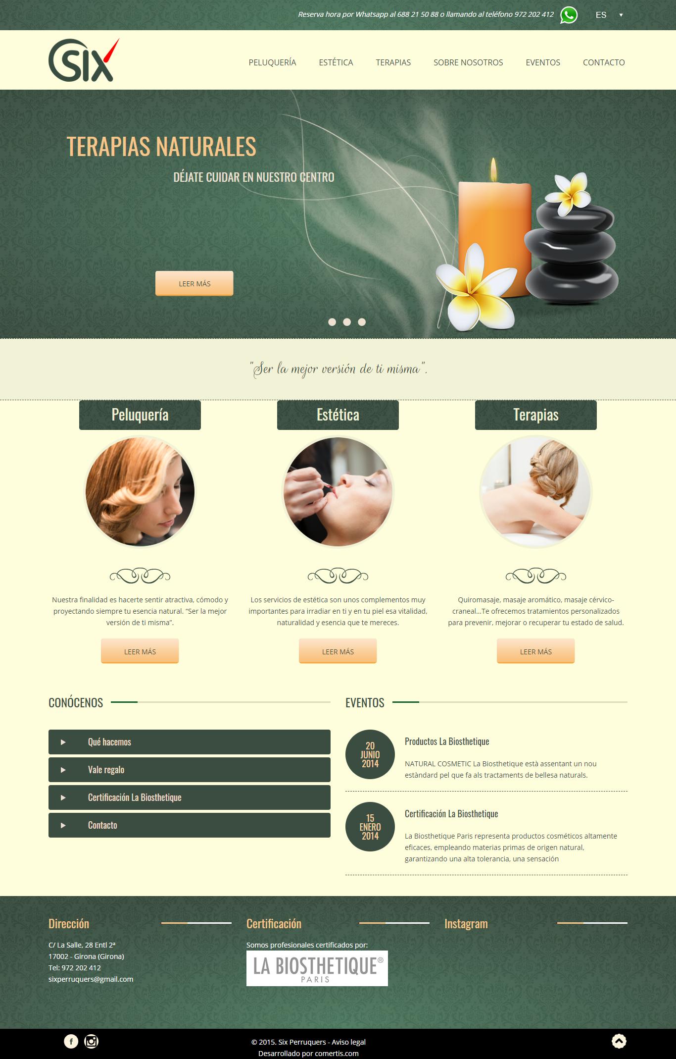 Botiga online Six perruquers