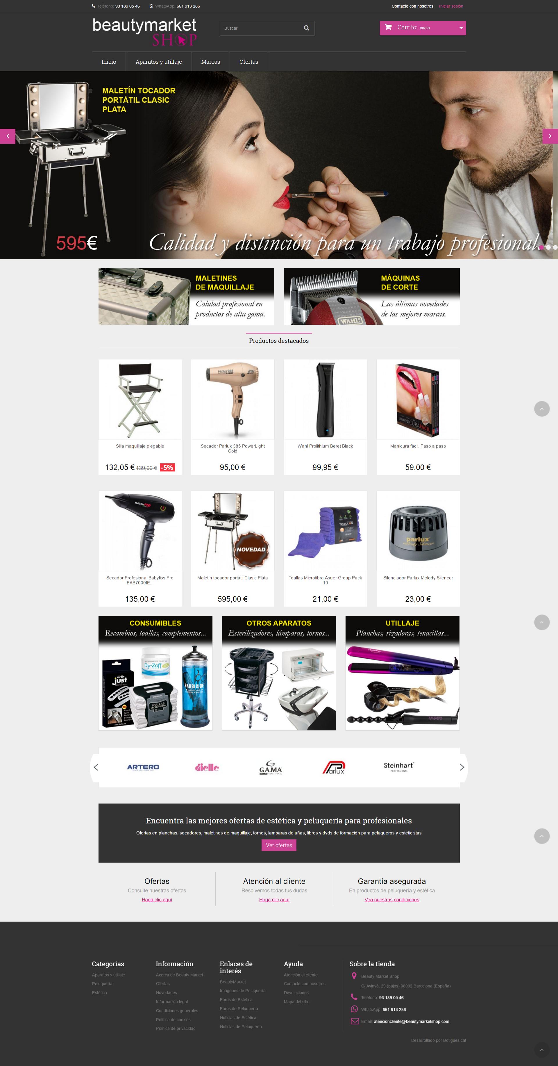 Botiga online Beautymarketshop