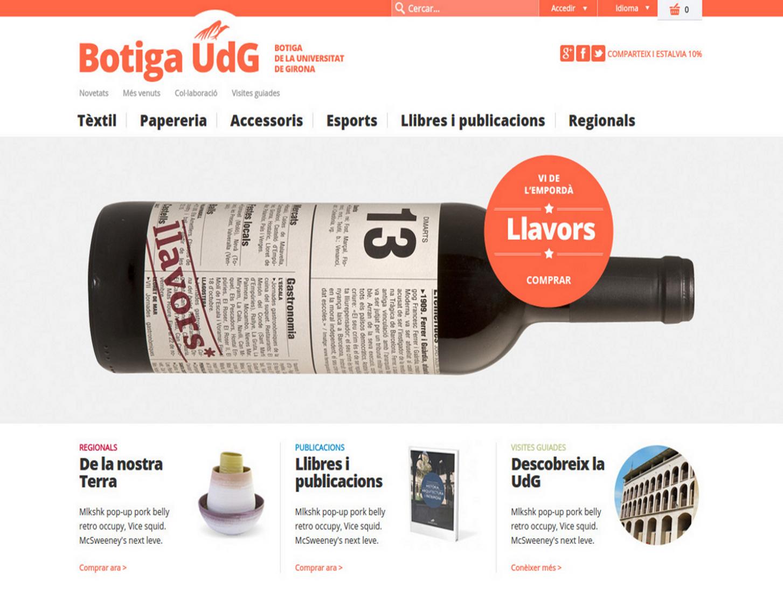 Botiga online UdG
