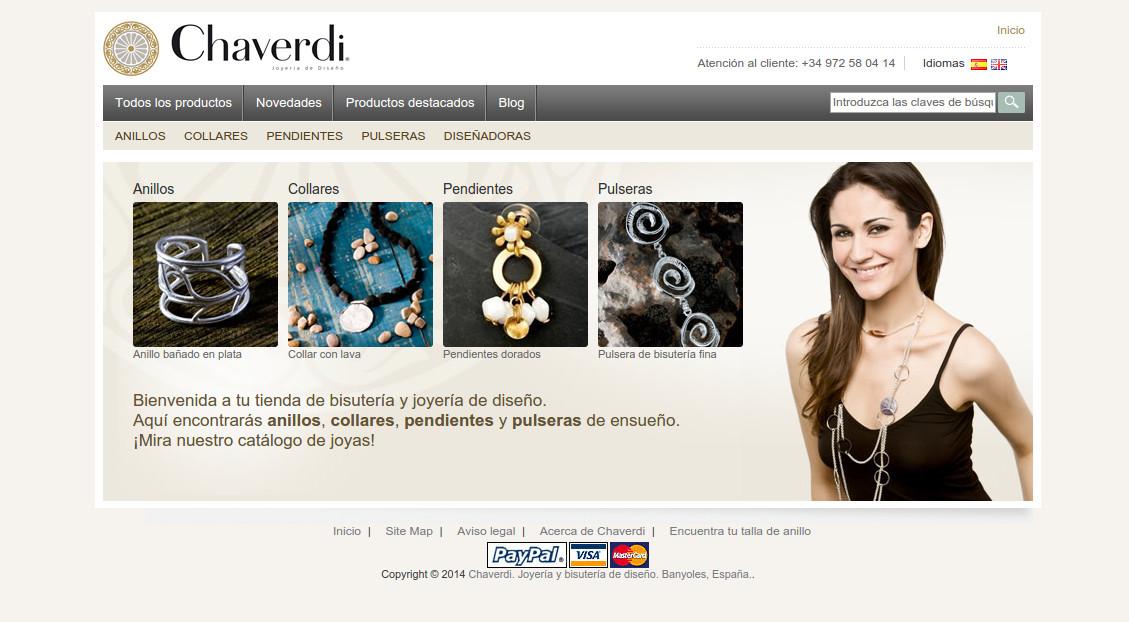 Botiga online Chaverdi