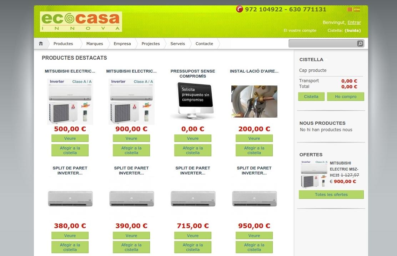 Botiga online Ecocasainnova