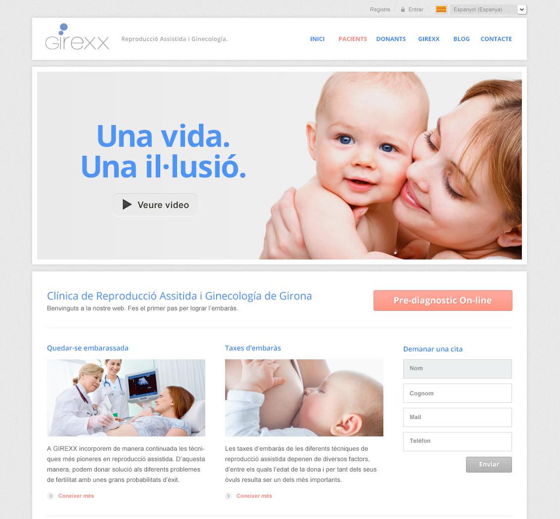 Web corporativa Girexx