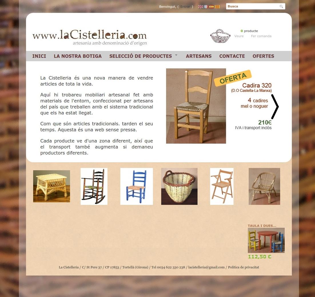 Botiga online La Cistelleria