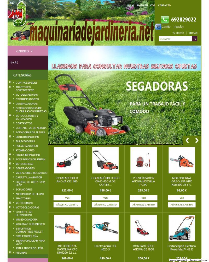 botiga online maquinariadejardineria