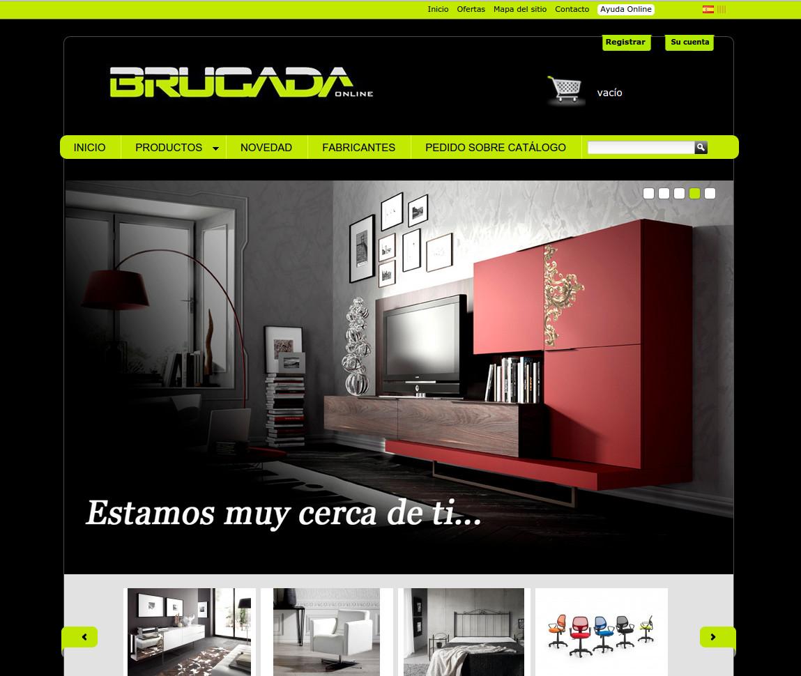 Botiga online Muebles Brugada
