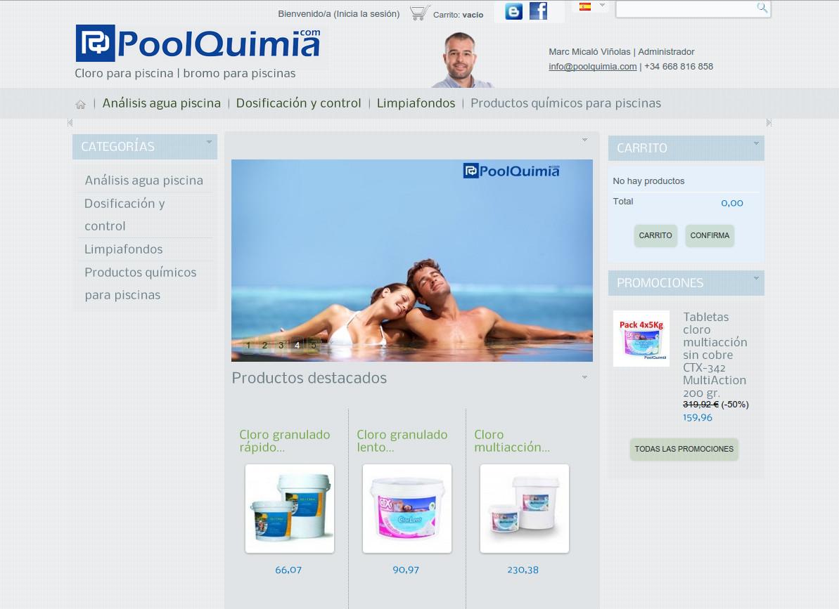 Botiga online Poolquimia