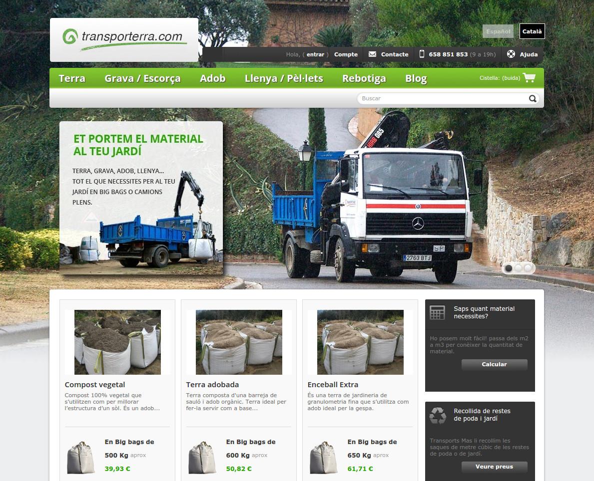 Botiga online Transporterra